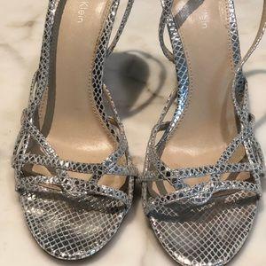 Calvin Klein sling back sandals